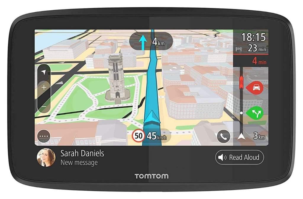 TomTom GO 620 - Navegador con pantalla de 6 pulgadas, manos libres, Siri y Google Now