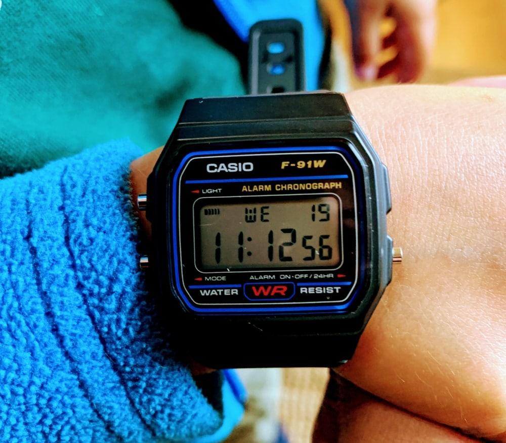 Reloj Casio digital F-91W