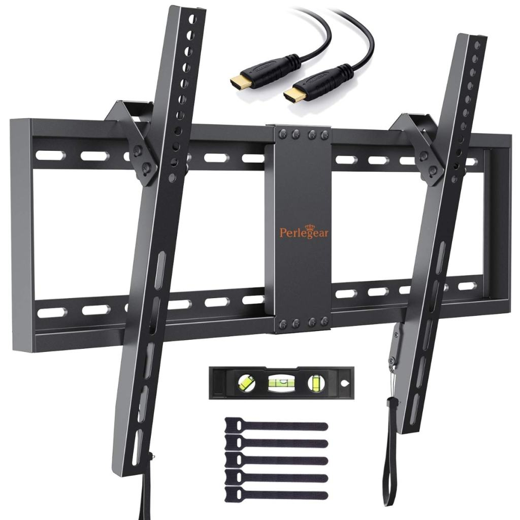 "Soporte de TV de pared articulado e inclinable para pantallas de 32-70"", hasta 60kg de Perlegear"
