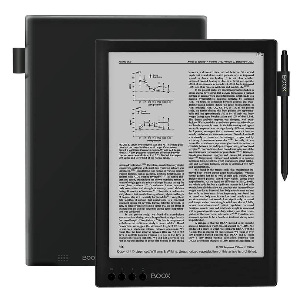 """BOOX MAX2 - Lector eBooks de 13.3"""""""