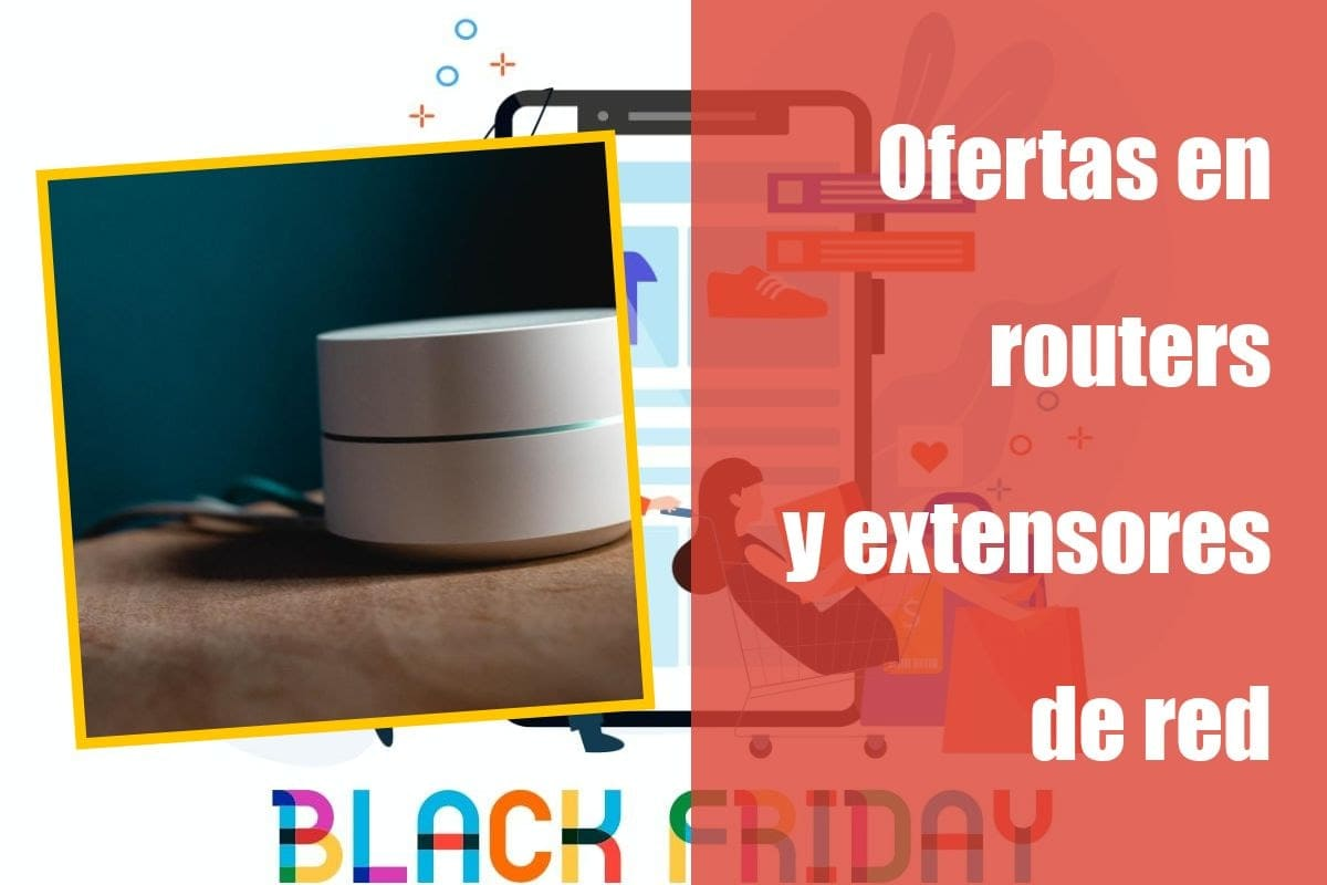 Ofertas en routers y extensores de red