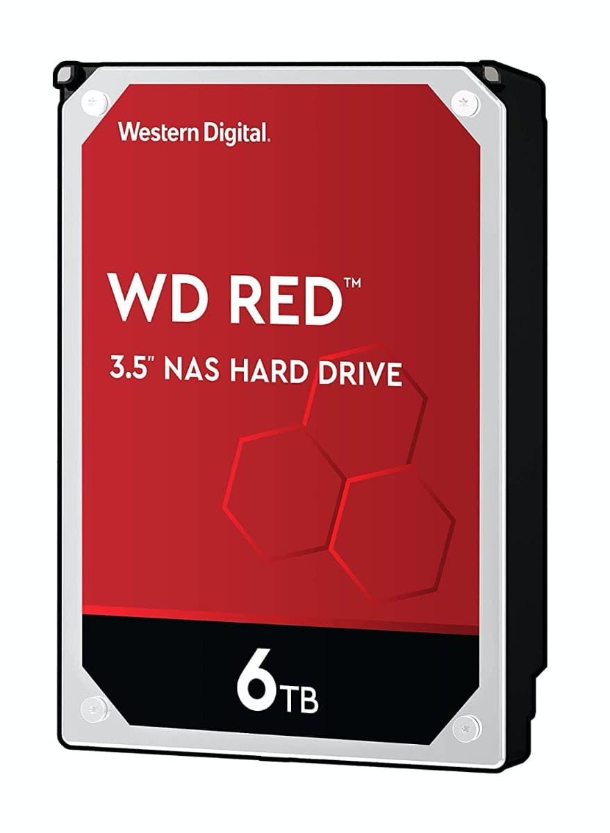 WD Red - Disco duro para NAS, 6 TB