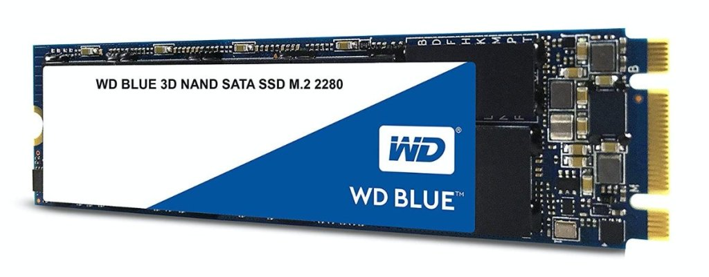 Western Digital WDS500G2B0B WD Blue 500GB 3D NAND Internal SSD M.2 SATA