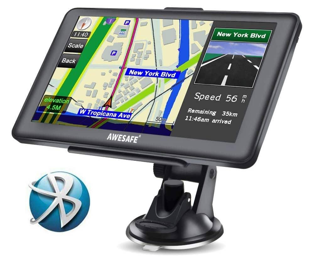 AWESAFE GPS para coche de 7 Pulgadas