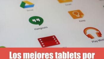¿Cuáles son las mejores tabletas por menos de 100 euros?