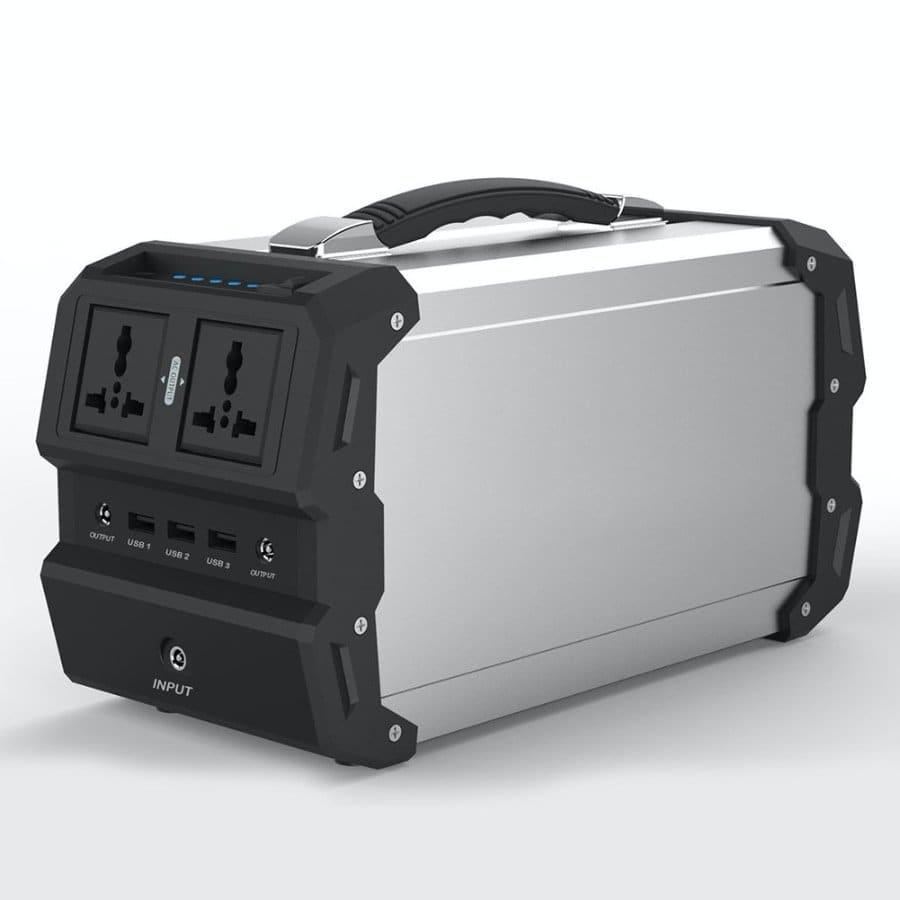 TOPQSC - Generador Solar portátil con AC/DC