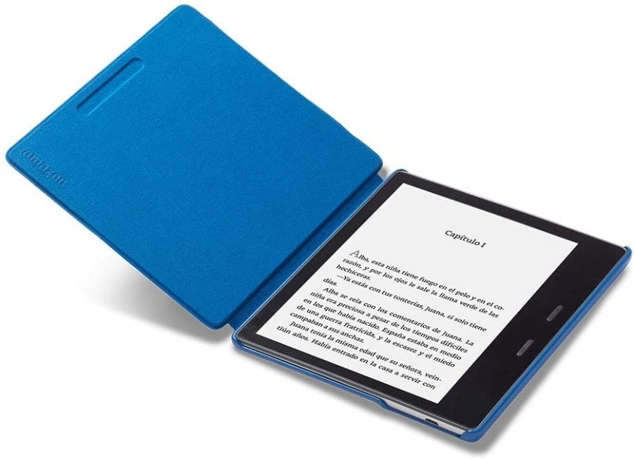 Funda Amazon de tela que protege del agua para Kindle Oasis