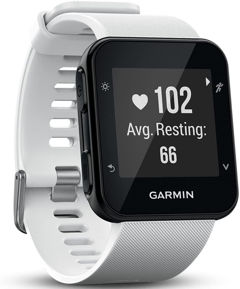 Garmin Forerunner 35 - Reloj GPS con monitor de frecuencia cardiaca en la muñeca, monitor de actividad