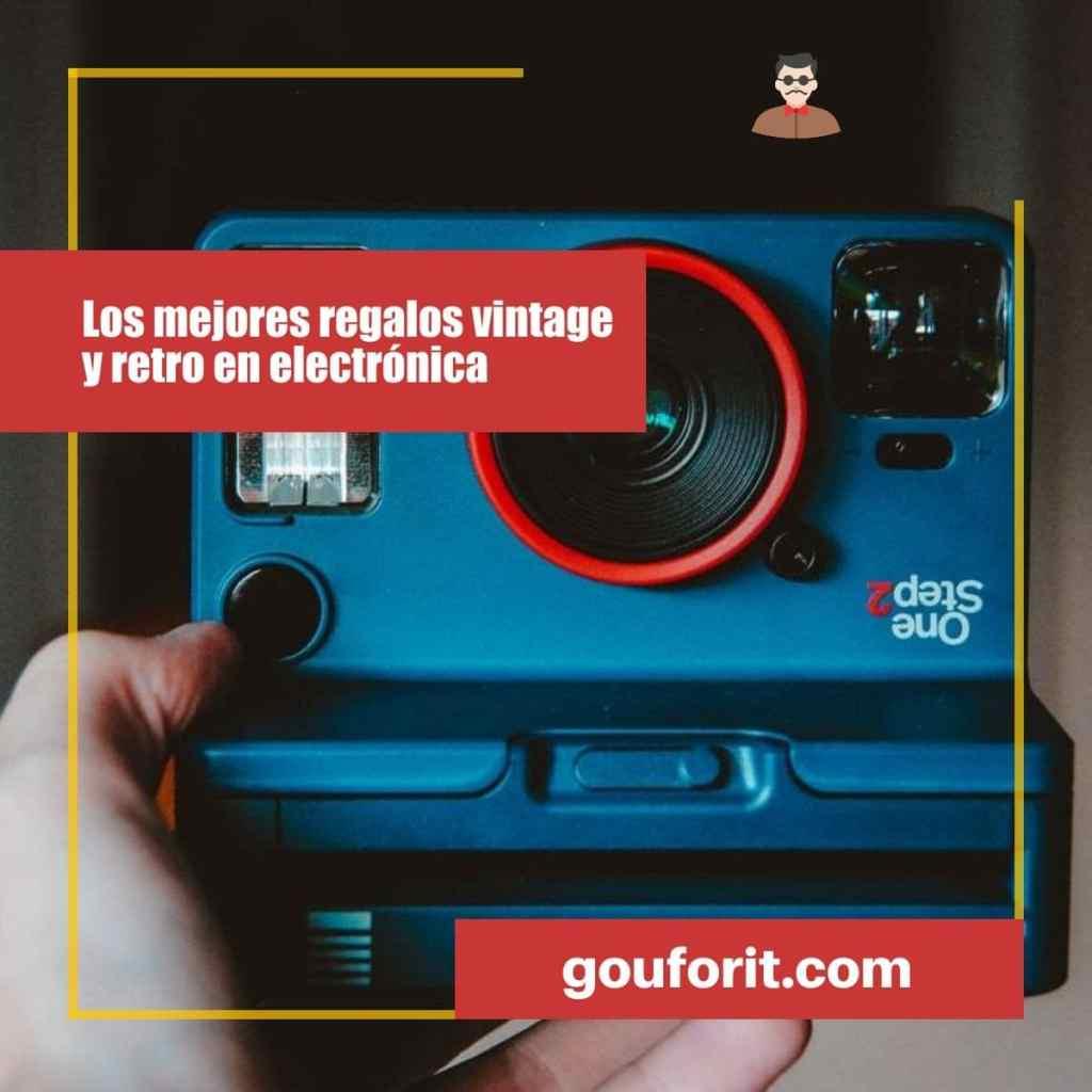 Los mejores regalos vintage y retro en electrónica: Guía de regalos Hipster