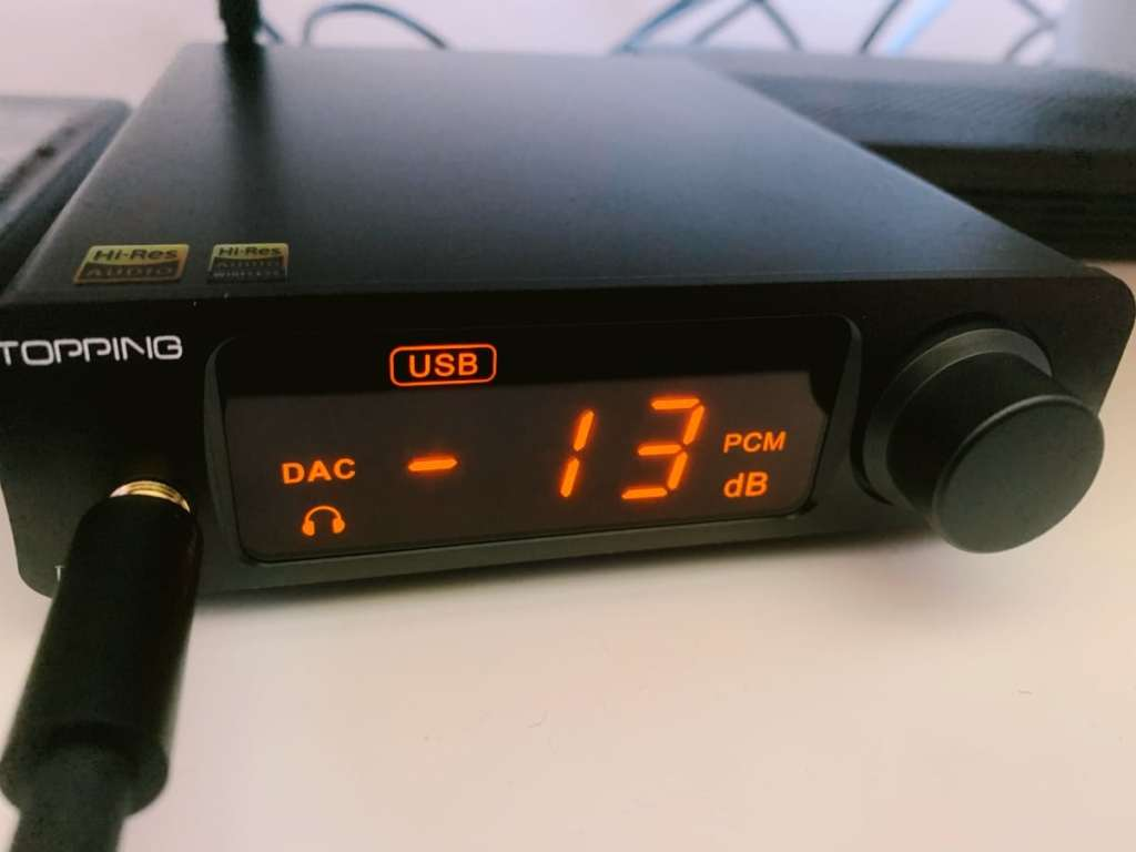Topping DX3 Pro LDAC – DAC & Headphone Amp