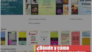 Aplicación Kindle para leer ebooks en iOS, Android, Mac y PC