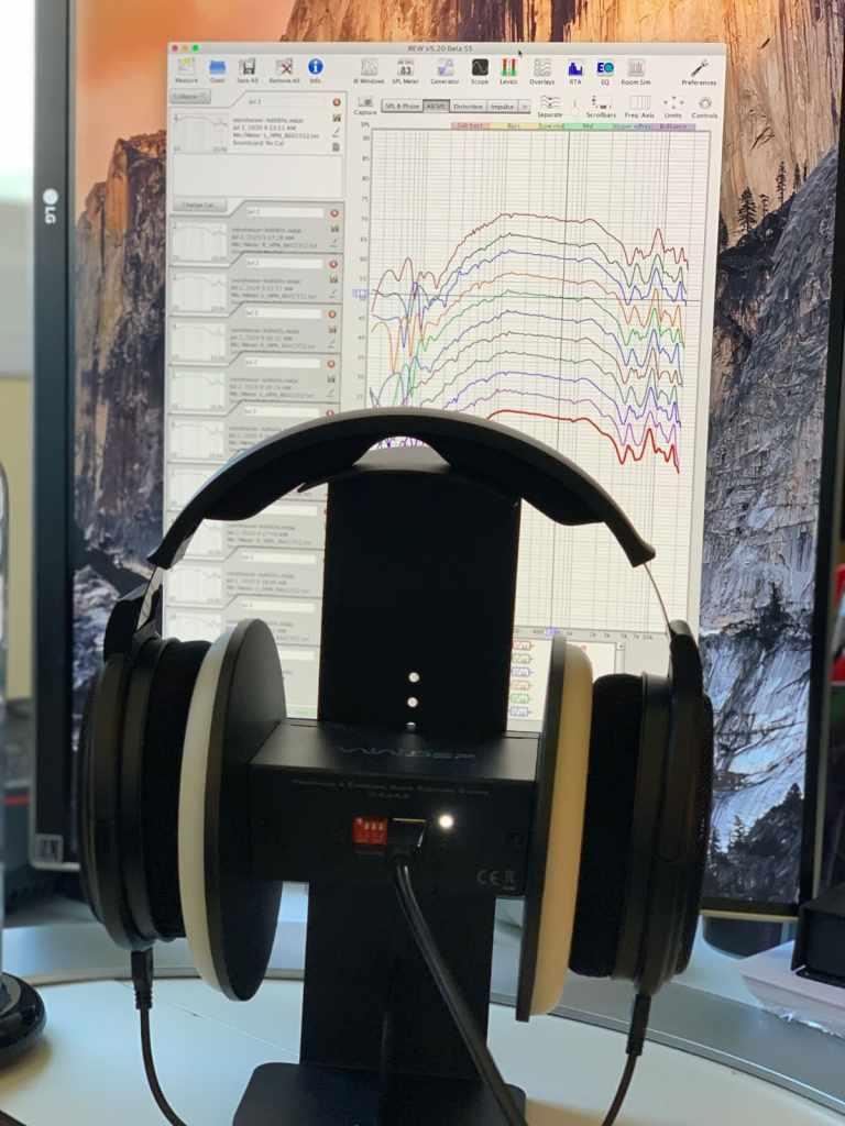 Auriculares Sennheiser HD 660 Sy miniDSP EARS: medidas con REW