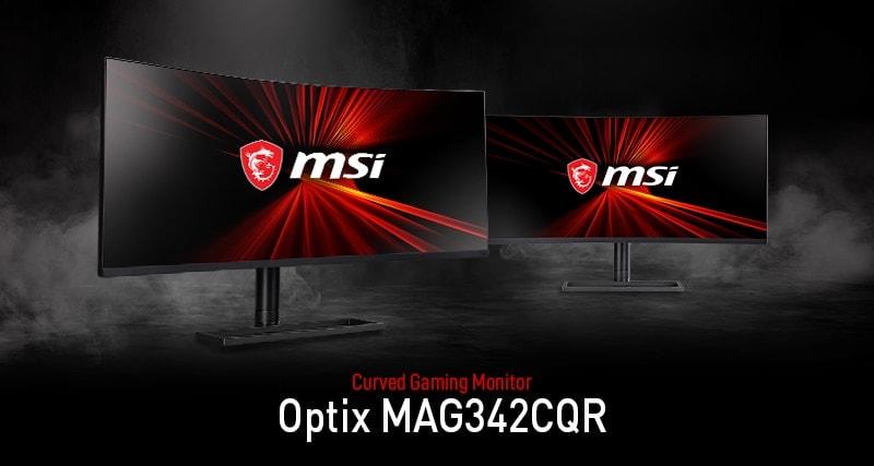 """MSI Optix MAG342CQR - monitor curvo de 34"""""""