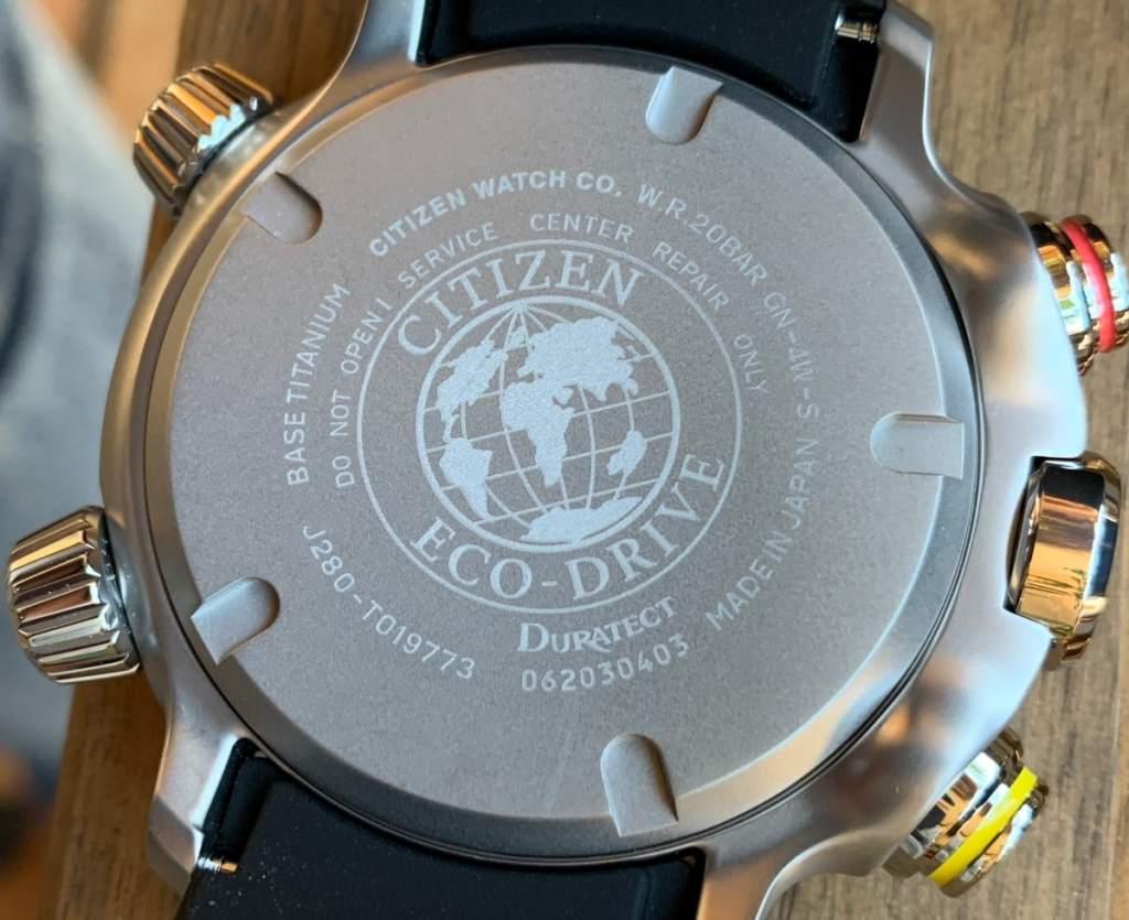 número de calibre tiene tu Reloj Citizen