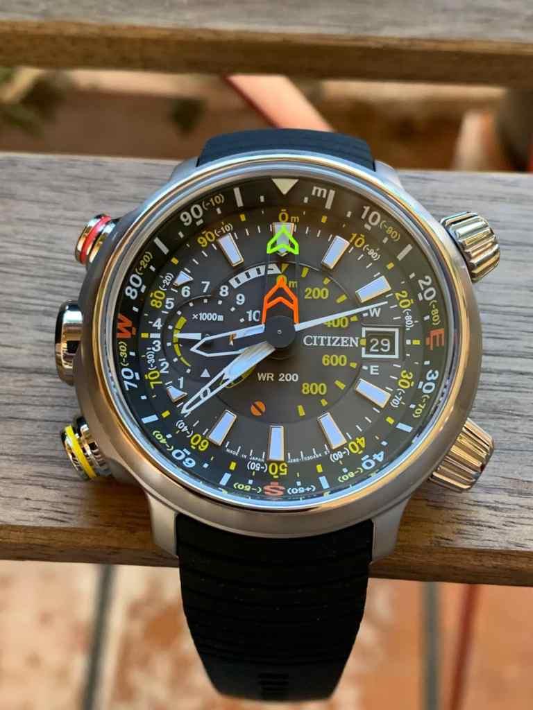 Reloj Citizen Eco Drive BN4021-02E Altichron