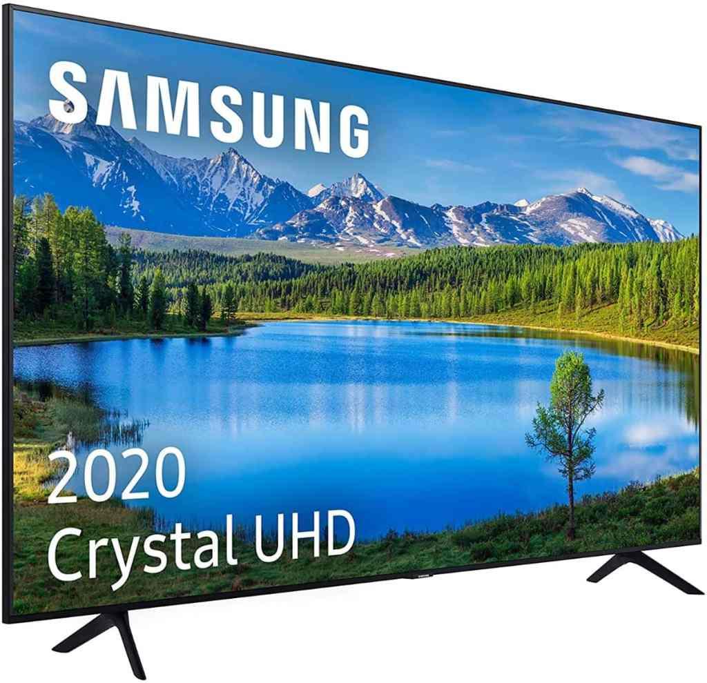 "Samsung Crystal UHD 2020 43TU7095 - Smart TV de 43"", 4K, HDR 10+, Procesador 4K"