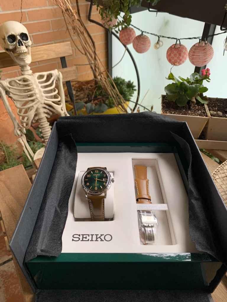 "Seiko Presage Cocktail Time ""The Mojito"" SRPE45J1"