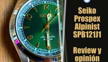 Seiko Prospex Alpinist SPB121J1 - Reloj automático - Opinión y review