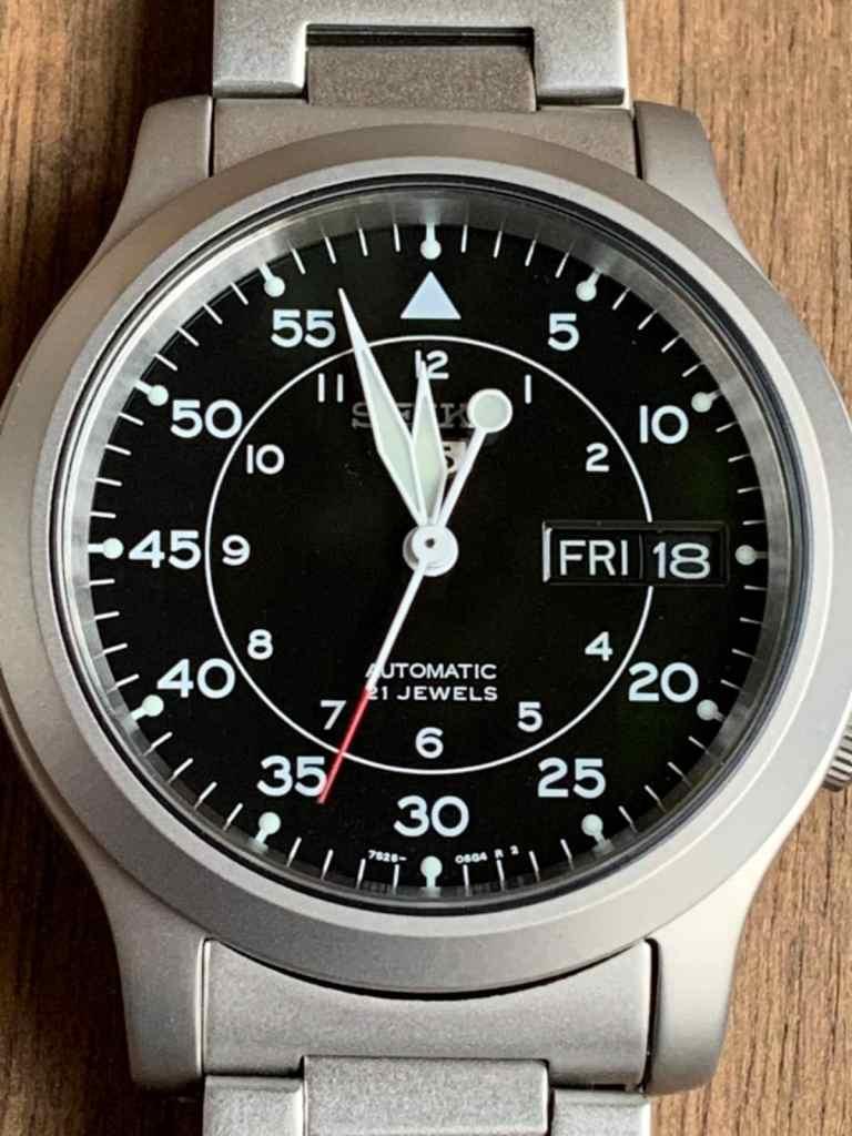 Seiko SNK809 - Reloj automático funcionamiento