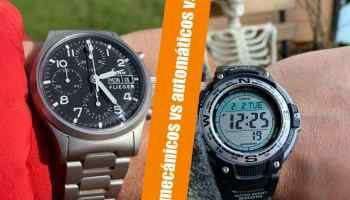 Relojes mecánicos vs automáticos vs Cuarzo: ¿Qué tipo de reloj es mejor para ti?