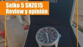 Seiko 5 SNZG15 - El reloj automático barato de Seiko - Review y opinión