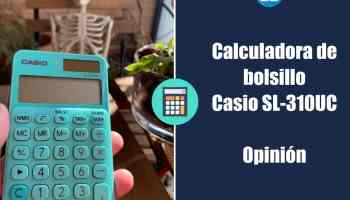 Casio SL-310UC - Calculadora de bolsillo - Opinión