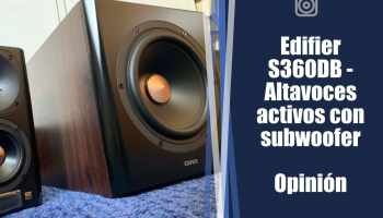 Edifier S360DB: opinión y review - Altavoces activos y subwoofer 2.1 con bluetooth