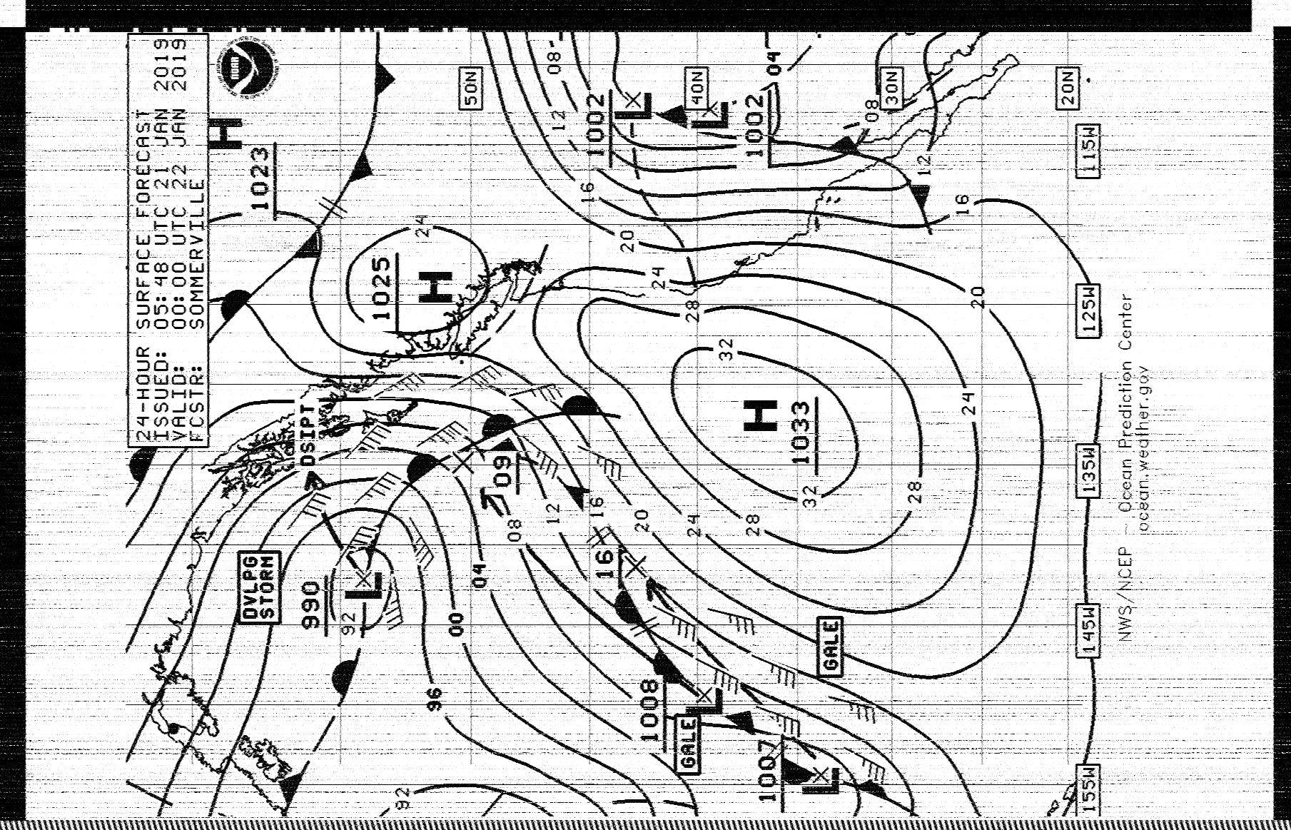 radiofax nmc pt reyes california national weather