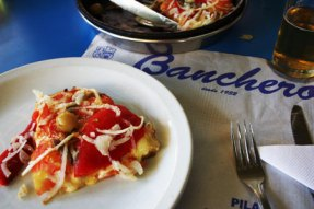Banchero pizza place