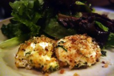 Warm Baked Andante Dairy Goat Cheese at Chez Panisse