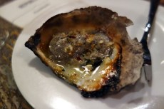 *Wood Grilled Oyster a la Pearl Diver