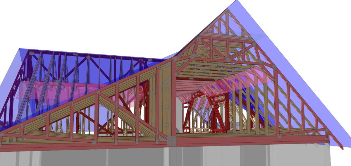 The Beauty Of The Attic Truss Gould Design Inc