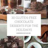 30 Days of Gluten-Free Chocolate Desserts For the Holidays