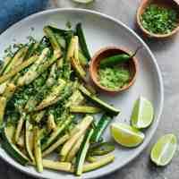 Sautéed Chili Lime Zucchini