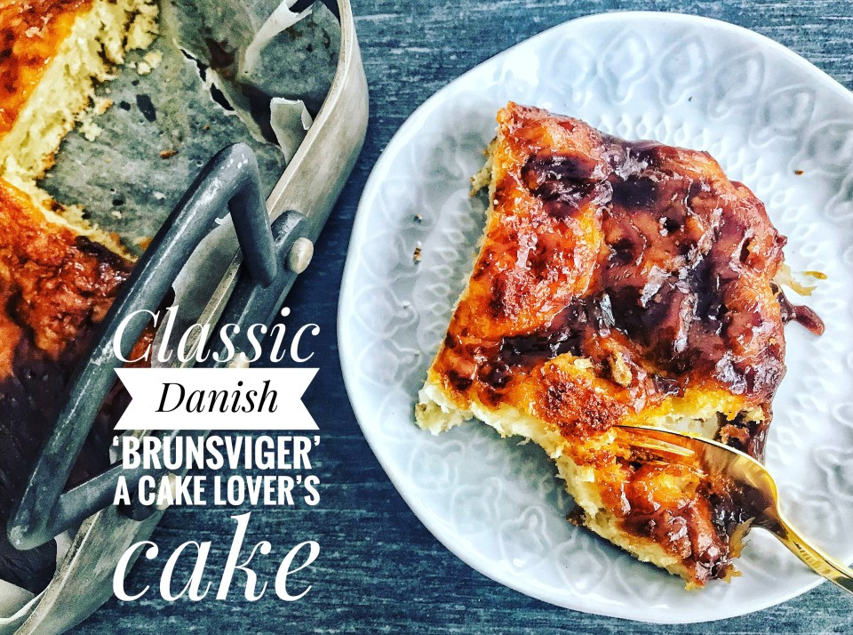 Rye bread with beer and other classic Danish baking recipes: 'brunsviger', a cake lover's cake