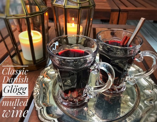 Delicious autumn recipes - drinks for cold weather, Danish Glögg, or, mulled wine