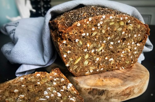 Rye bread with beer - classic Danish recipe without sourdough or yeast