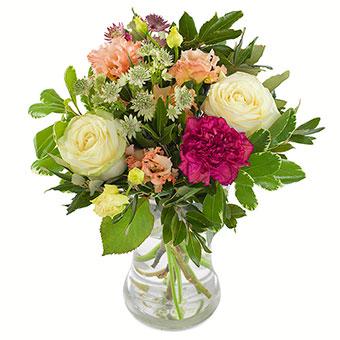 Blomsterbukett Vårfølelse