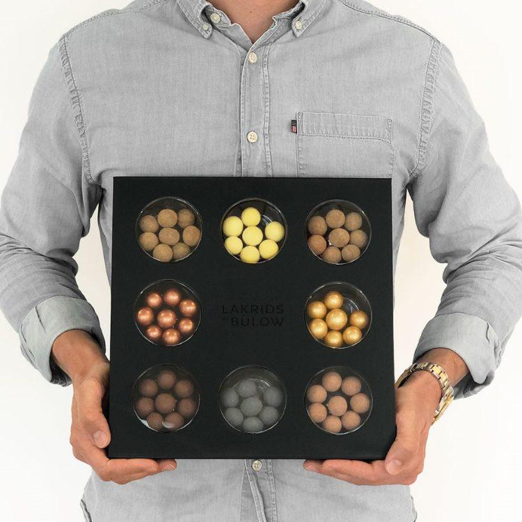 Selectionbox - en presentask med riktigt läckert lakrids från Johan Bulow