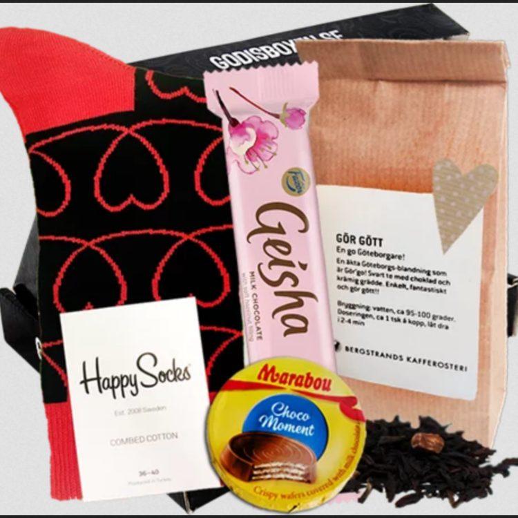 Presentboxen med happybox geischa mm
