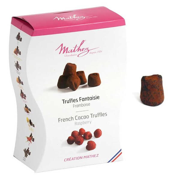 Skicka tryffelchoklad från Mathez