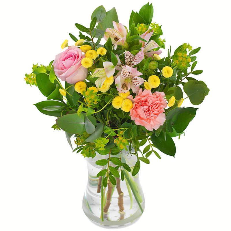 skicka en kyss (blommor) med bud