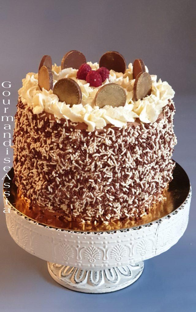 gateau d anniversaire molly cake chocolat et framboise