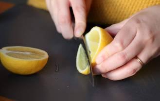 Découpage du citron