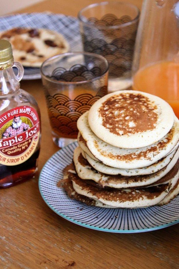 Pile de pancake moelleux
