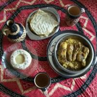 Repas aux saveurs du Yémen: Mutaqabiya yemeniyah et mandi dajaj مطبقية يمنية, مندي دجاج
