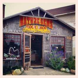 Petoskey stone store