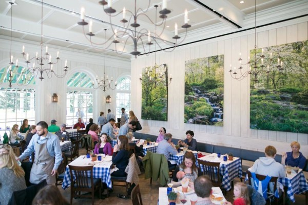 Gentil Sheila And I Were Pleasantly Surprised By The Delightful And Yummy Lunch We  Were Served At The Hudson Garden Grill At The New York Botanical Gardens.
