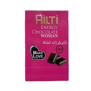 Hilti Aphrodisiac Energy Chocolate 400g 12 Piece For Women
