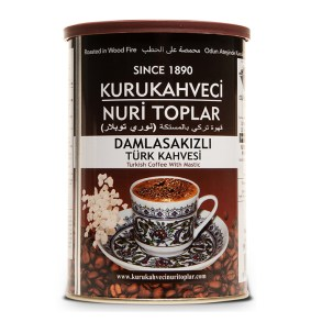 Nuri Toplar Turkish Coffee with Gum Mastic 250g